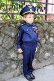 Пилот мальчика Стоковая Фотография