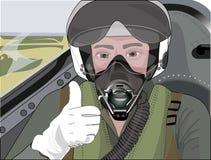 Пилот профессии Стоковые Изображения RF