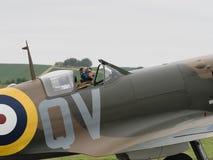 Пилот Spitfire Стоковая Фотография