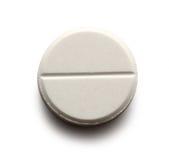 Пилюлька аспирина стоковое изображение