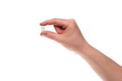 пилюлька руки Стоковые Изображения RF
