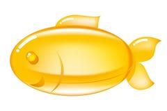 Пилюлька Omega-3 иллюстрация штока