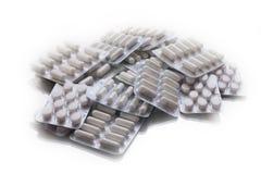 Пилюльки антибиотика таблетки медицины Стоковые Изображения