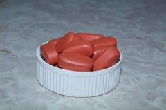 Пилюльки в крышке Стоковое фото RF