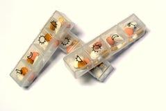 Пилюльки коробка Стоковые Фотографии RF