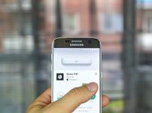 Пилюльки app ударов стоковые изображения rf
