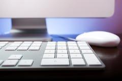ПК клавиатуры Стоковое Изображение