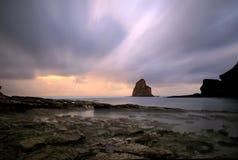 плавает вдоль побережья франчузы Стоковая Фотография