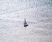 Плавание на звуке Puget стоковые фото