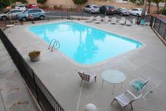 Плавательный бассеин в гостинице Стоковое Изображение RF