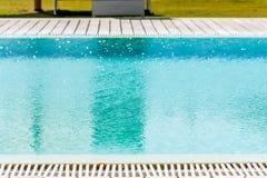 плавательный бассеин Стоковое Фото