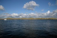 Плавать в Гётеборге близрасположенные острова Стоковое Фото