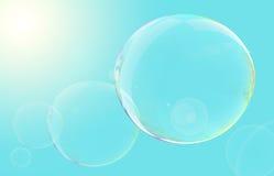 плавать пузырей Стоковые Фотографии RF