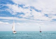 плавать шлюпок Стоковая Фотография RF