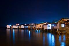 плавая дом домов Стоковое Фото