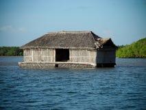 плавая дом Стоковая Фотография