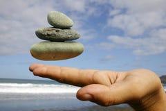плавая камушки Стоковые Изображения RF