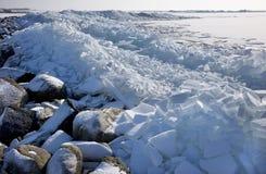 плавая льдед Стоковое фото RF