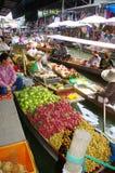 плавая рынок Стоковые Изображения