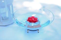 Плавая свечка Стоковое Изображение RF