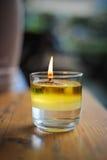 Плавая свечка Стоковые Изображения