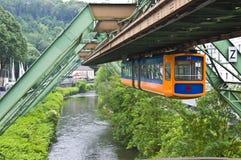 Плавая трам Стоковые Изображения RF