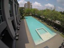 Плавая тренируя бассейн для 2020 Олимпийских Игр в Японии стоковые фотографии rf