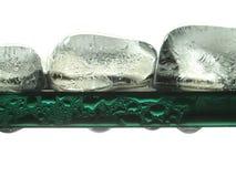 плавить льда кубиков Стоковые Фотографии RF