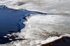 плавить льда Стоковые Фото