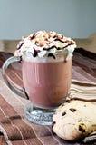плавить сливк шоколада Стоковое Изображение