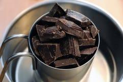 плавить шоколада Стоковая Фотография