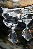 плавить icicles Стоковая Фотография RF