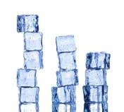 Плавя кубики льда стоковые изображения rf