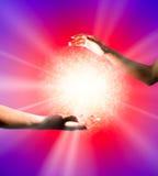 плазма шарика светя Стоковое Фото