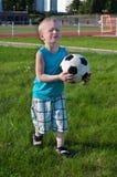 плакать мальчика шарика Стоковое Фото