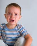 плакать мальчика Стоковое фото RF