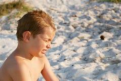 плакать мальчика Стоковая Фотография RF