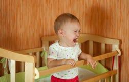 плакать младенца Стоковые Изображения