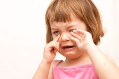 плакать ребенка Стоковое фото RF