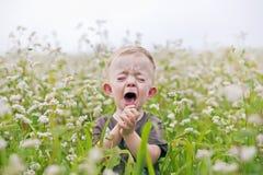 плакать ребёнка Стоковые Фото
