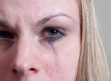 плакать Стоковое Фото