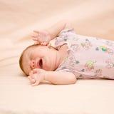 Плакать newborn Стоковые Изображения RF