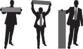плакат бизнесмена Стоковое Фото