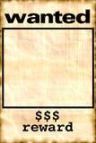 плакат бродяжничает Стоковые Фотографии RF