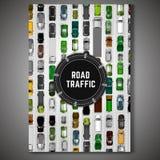 Плакат городского транспорта Стоковые Фотографии RF