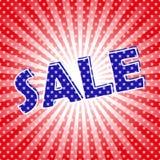 Плакат продажи искусства шипучки Стоковое Изображение