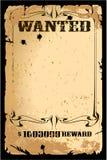 плакат ретро Стоковые Изображения