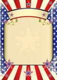 плакат США grunge Стоковое Фото