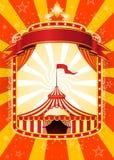 плакат цирка Стоковое Изображение RF