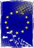 плакат eu Стоковые Изображения RF